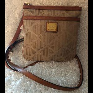 Ralph Lauren Signature Tan Crossbody Handbag